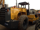used 18 ton XCMG hydraulic single drum soil roller compactor