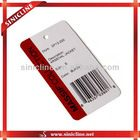 Customized Round Corner Matte Lamination Ticket With Barcode For Business Cards