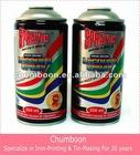 Aerosol Spray paint aerosol tin can with 4 color