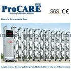 foshan high quality stainless steel electric folding gate