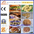 Tissue protein food processing line