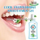 Cool peppermint mouthwash