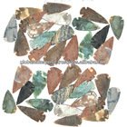 Wholesale agate arrowheads for sale from india