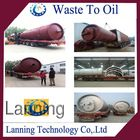 2014 the newest design Top tech continuous waste tyre recycling plant