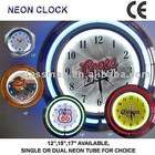 Neon light Clock