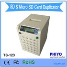 SD/micro SD card duplicator 1 master to 23 targets TS-123