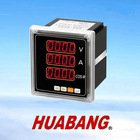 RS485 smart programable MODBUS 96 single phase AC Voltage current and COS digtial panel meter