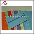color custom size and design envelope