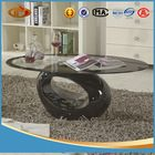 home furniture modern tempered glass coffee table JMC-002