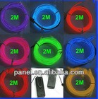 Hot selling EL wire with 2.3mm , 3.2mm , 5.0mm sizes