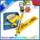 top sale Minions stationary sets / 2014 Minions stationary sets/ cute Minions stationary sets