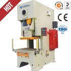 high speed pneumatic boxing power press,JH21-45tons automatic steel hole punching machine for window and door
