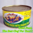 Canned Stewed Duck with Orange Peel Food Tin Can for Food
