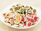Colorful chicken sushi dog food,cat food,pet snack