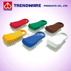 Commercial Kitchen Tool Color Coded PP Plastic Cutting Board Brush