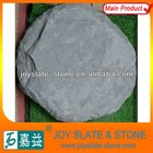 Natural round black landscaping stone