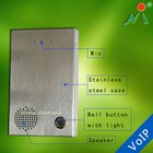 Waterproof phone intercom door opener wireless electric door bell IP phone