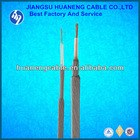 HUANENG SUYOU WGSF46-5.60 Monoconductor F46 (Fluoroplastics) steel wire armored logging cable for oilfields