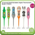 Lovely Baby Use Cartoon Swift Bendable digital baby thermometer