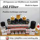 Various types of high quality car filter for engine oil